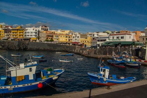 Fiskehamnen i Los Abrigos