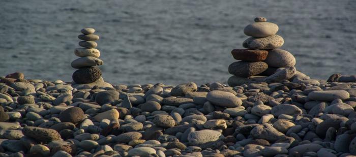 Mycket sten finns det