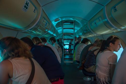 Passagerare på plats