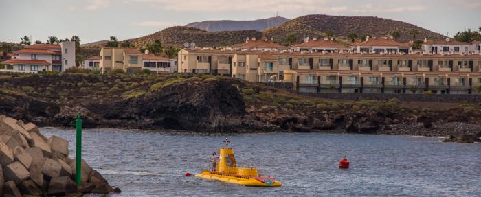 U-båt på väg