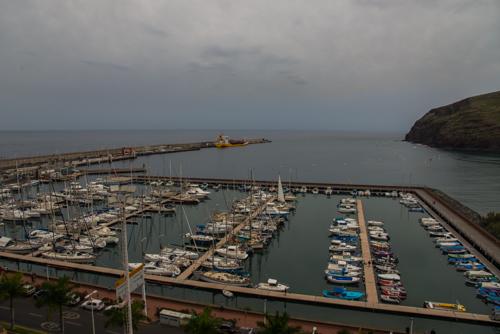 Hamnen i San Sebastian de La Gomera