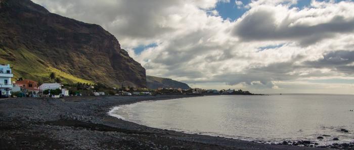 Stranden i Valle Gran Rey
