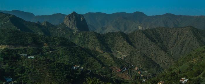 ...in över bergen...