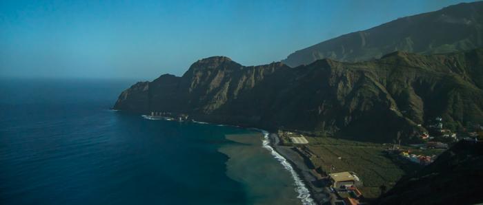 ... till Playa de Santa Catalina...