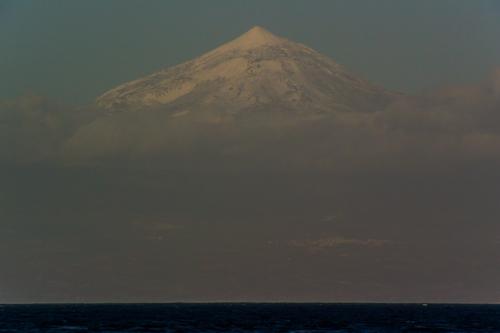 Snö på Teide