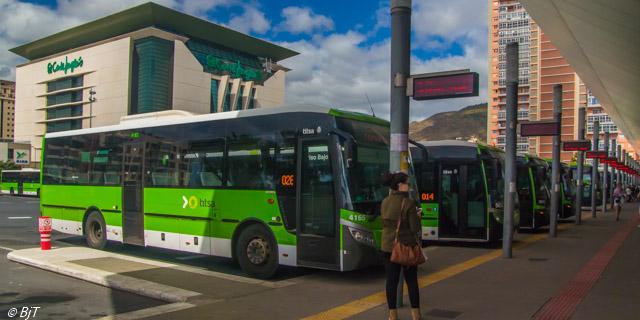 Buss till Puerto de la Cruz
