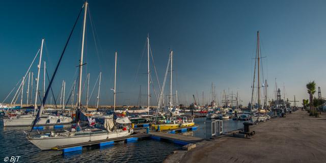 Marina Santa Cruz, en trevlig marina