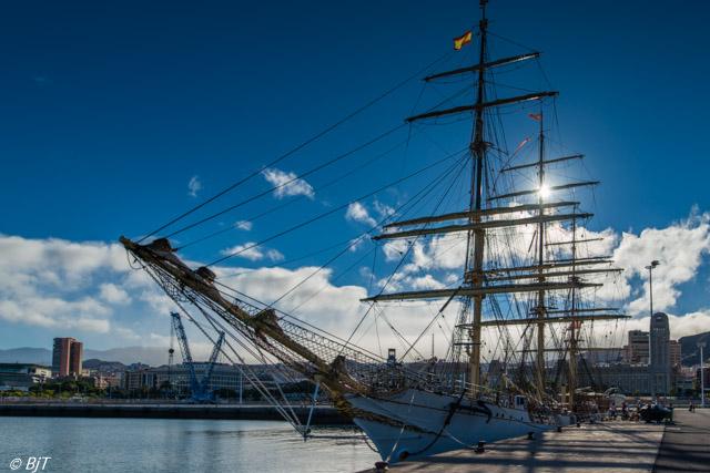 Danmark på besök  i Santa Cruz de Tenerife