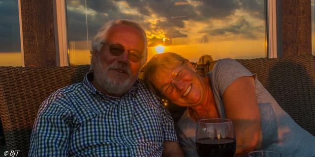 Hos Mikael och Karin i Åsa