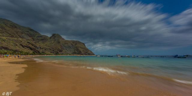 Stranden norr om Santa Cruz
