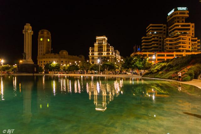 Kväll på Plaza de España