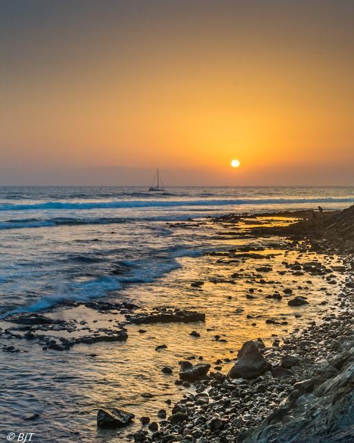 Solnedgång vid Los Cristianos-1