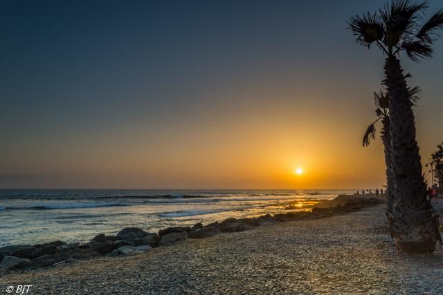 Solnedgång vid Los Cristianos