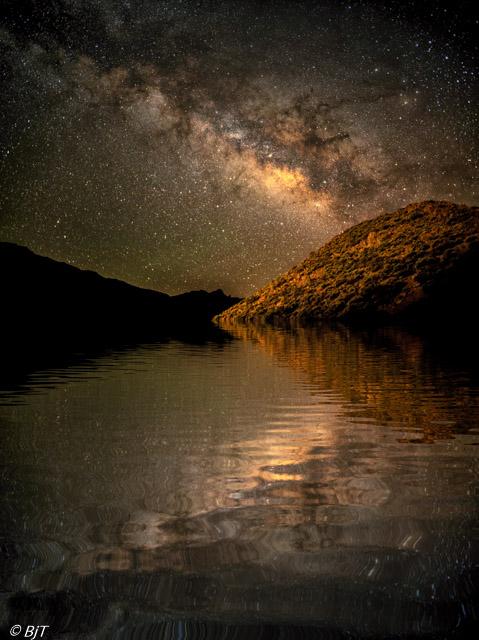 Vintergatan - drömskt perspektiv
