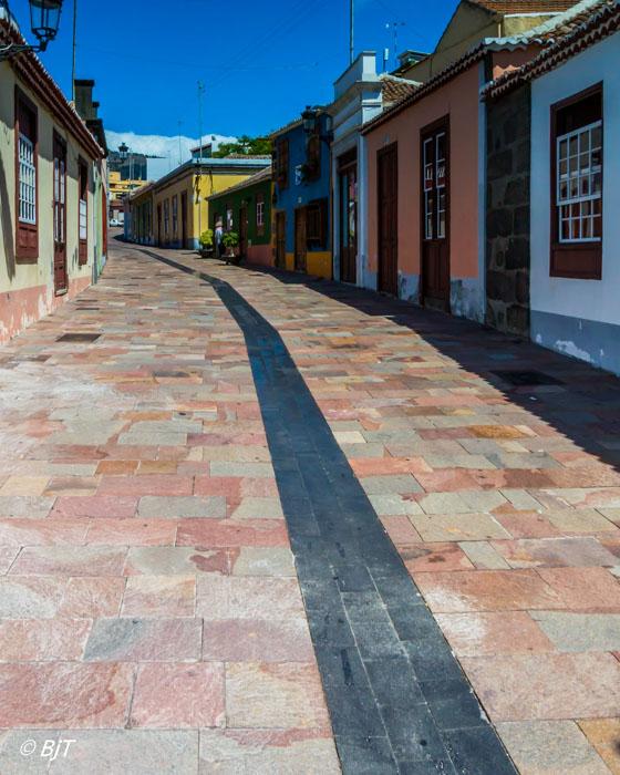 Gamla kvarteren i Los Llanos
