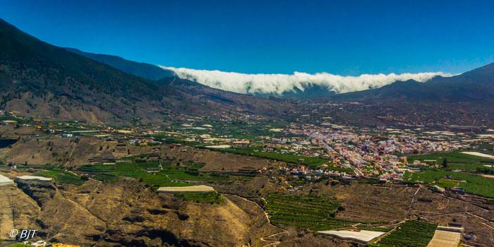 Utsikt mot Lo Llanos de Aridane