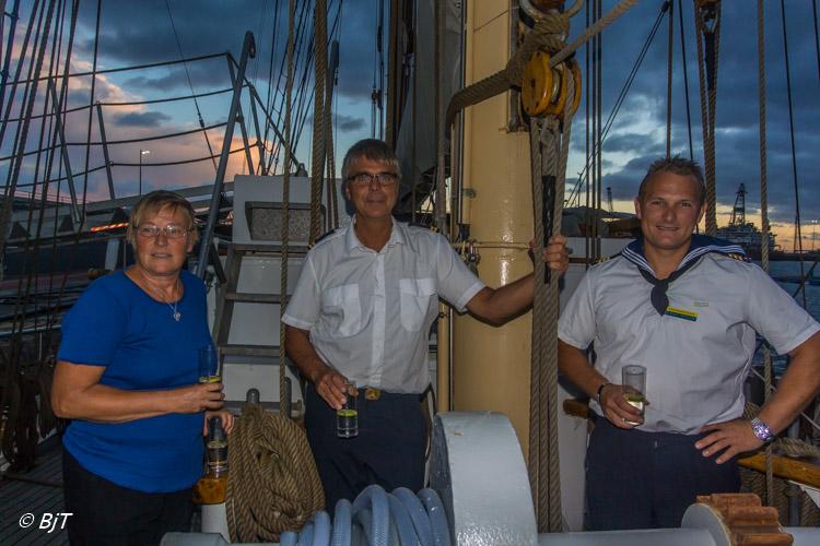Ombord på HMS Falken