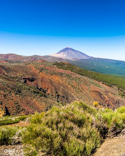På väg mot Teide