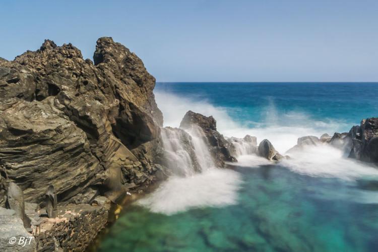 Havsbassäng vid San Juan Rambla
