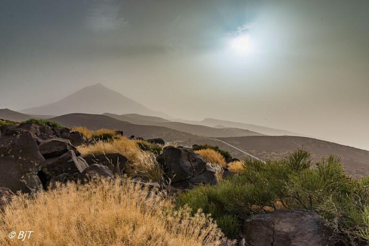 Teide i Calima