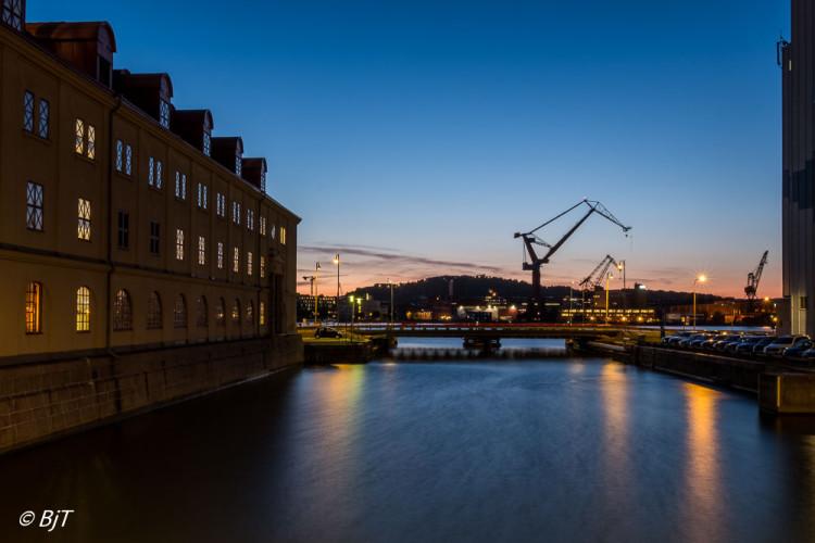 Göteborg i kvällningen
