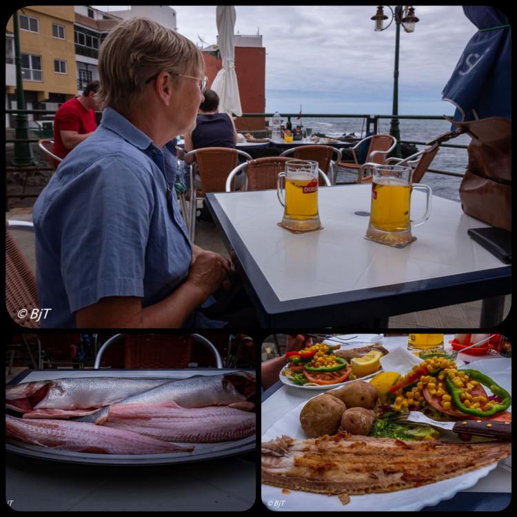 Lunch i Punta Brava
